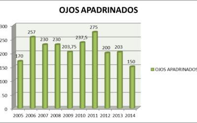 Campaña Apadrina Ojos 2013-2014