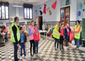 Campaña optométrica en el colegio Santiago Apostol