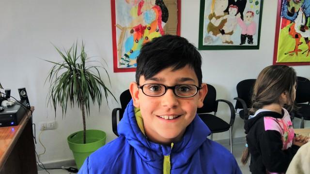Entrega de gafas en el CEIP Juan Manuel Montoya