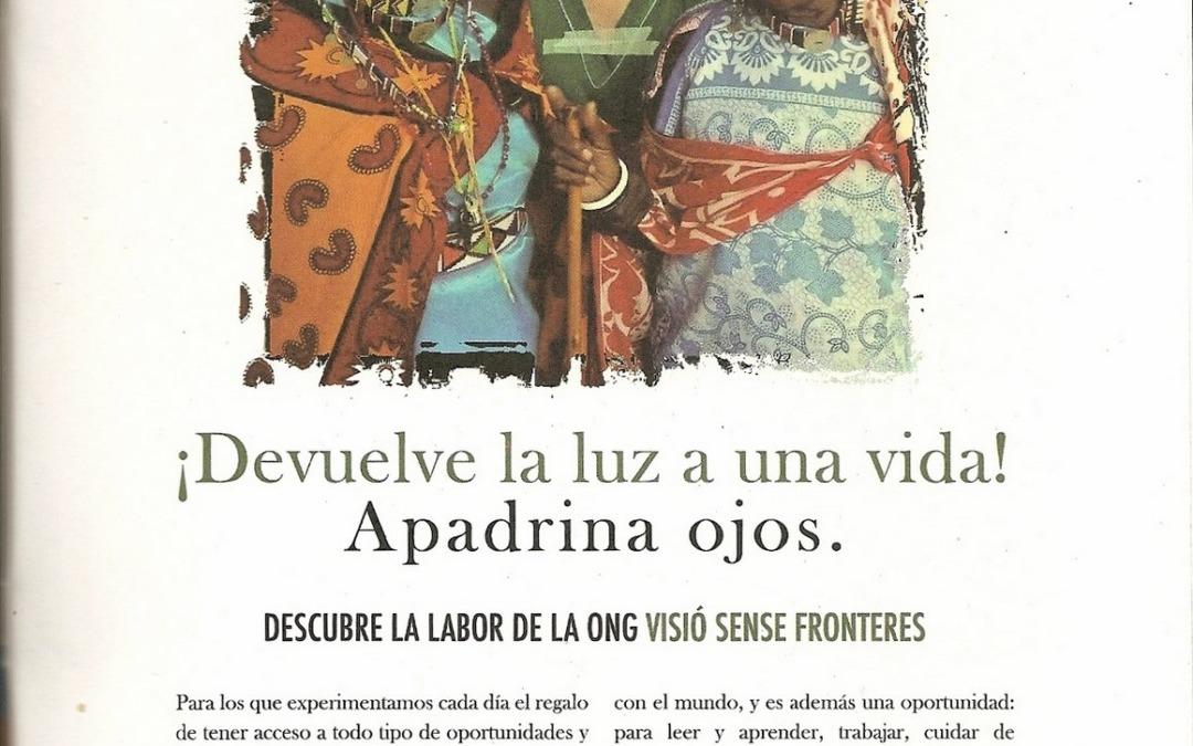 Reportaje en magazine de Moda y Salud Visual