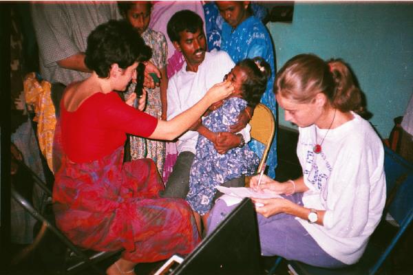 Optometrista graduando en India