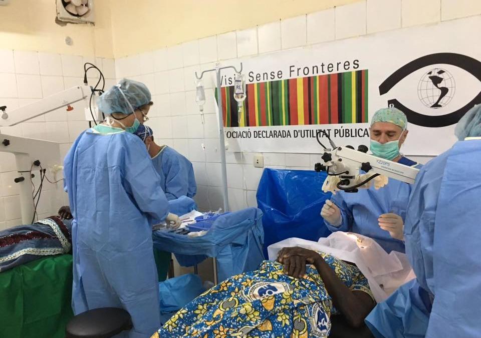 Proyecto cirugía de cataratas – Burkina Faso 2019