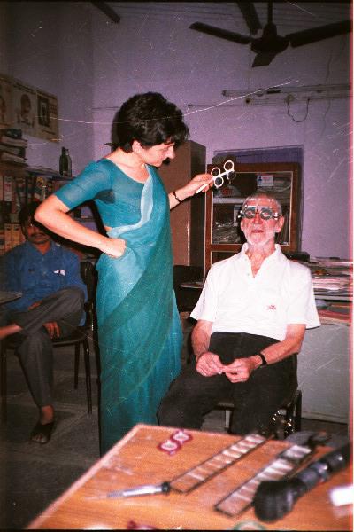 Visio Sense Fronteres, India, Vicente Ferrer