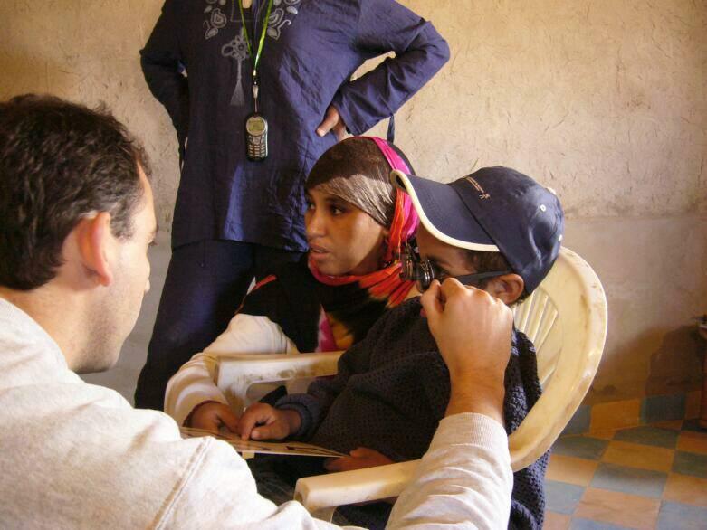 Revision optométrica en Marruecos