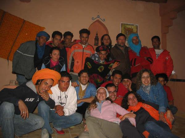 Grupo campaña Visio Sense Fronteres Marruecos 2007