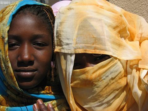 Chicas Mauritania