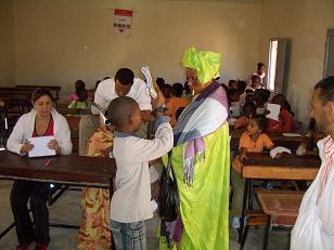 Campaña Visio Sense Fronteres Mauritania