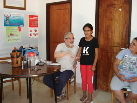 Paraguay. Entrega de gafas