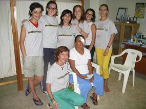 Grupo de chicas, Perú 2007