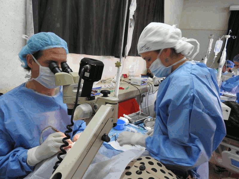 Proyecto de prevención de la ceguera por cataratas en Zambia 2019