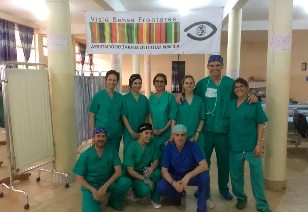Campaña de cirugía de cataratas en SHISONG (CAMERUN)