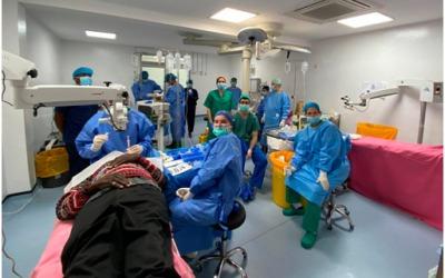 Cirugía de cataratas en Eldoret