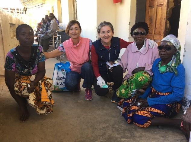 Cirugía de cataratas en Zambia