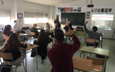 "Charla Informativa en el IES ""IFACH"" de CALP"