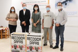 ENTREGA GAFAS Fundació Lluís Alcanyís – Universitat de València